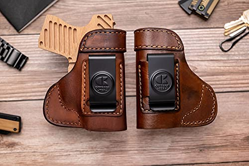 OutBags USA LS3LC9X (Brown-Right) Full Grain Heavy Leather...