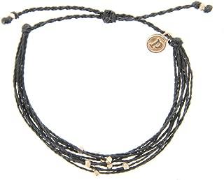 rose gold string bracelet