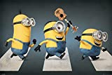 Close Up Pster Minions Abbey Road (Kevin, Stuart & Bob) (91,5cm x 61cm)