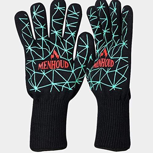 ZFZ Hochtemperatur-Handschuhe, Barbecue Handschuhe, Mikrowelle, Küchen Antiverbrühschutz Handschuhe (Farbe, C),D
