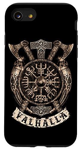 iPhone SE (2020) / 7 / 8 Viking Vegvisir Valhalla Norse Mythology Case