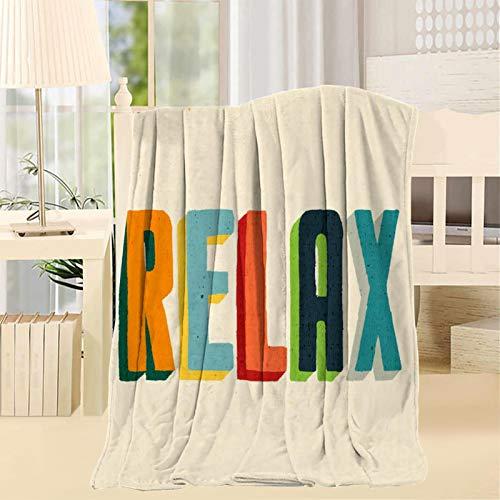 2183 Entspannungsdecke, 3D-Druck, Kunstwerk, superweich, flauschig, warm, solide für Bett, Sofa, Mikrofaser-Decke