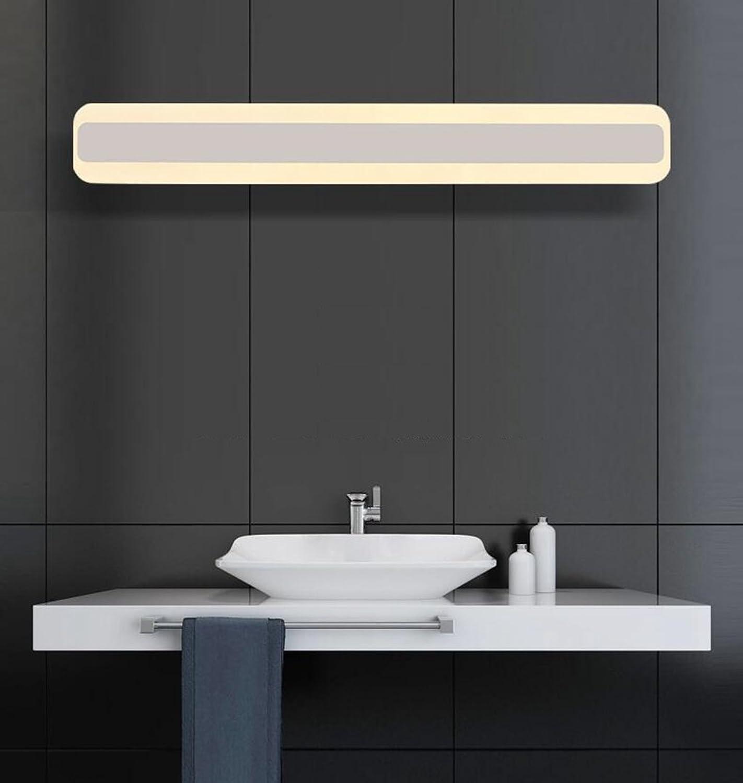 Lozse Acryl Spiegellampe LED Moderne Badezimmer Wandleuchte Wasserdicht Nebel Spiegelleuchte Leuchte Spiegelschrank Lampe
