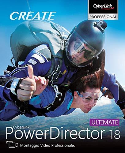 CyberLink PowerDirector 18 Ultimate | PC | Codice d'attivazione per PC via email