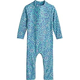 Coolibar UPF 50+ Baby Beach One-Piece Swimsuit – Sun Protective