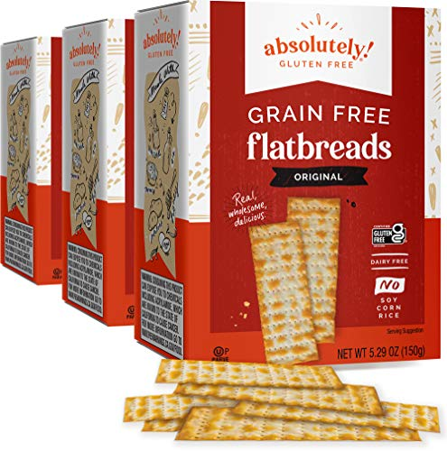 Absolutely Gluten Free Original Flatbread, 5.29-Ounce (3-Pack)