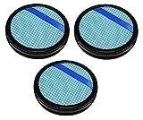 3 filtri 14943 compatibili con aspirapolvere a mano Philips PowerPro Aqua/Dou simili a CP9985, 432200494361