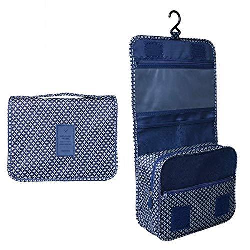 BryTravel Bolsa de Maquillaje portátil con múltiples Compartimento Estrella Azul Marino...