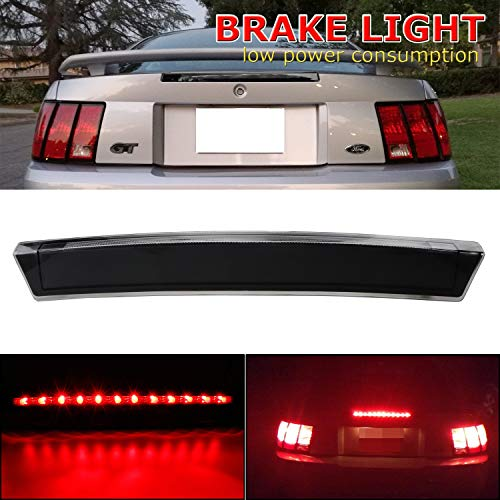 LED Third 3rd Brake Light For 1999-2004 Ford Mustang Truck High Mount Top Rear...