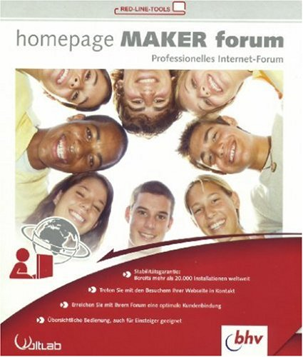 Homepage Maker Forum