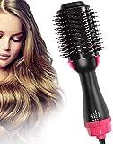 Aibesser Sèche-cheveux multifonction Brosse soufflante Salon Hair Styler Volumiseur Brosse à air chaud Brosse lissante
