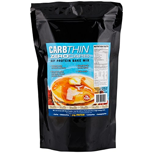 Healthsmart Zero Carb Soy Vanilla Protein Bake Mix, Low Carb, Sugar Free, Fat Free