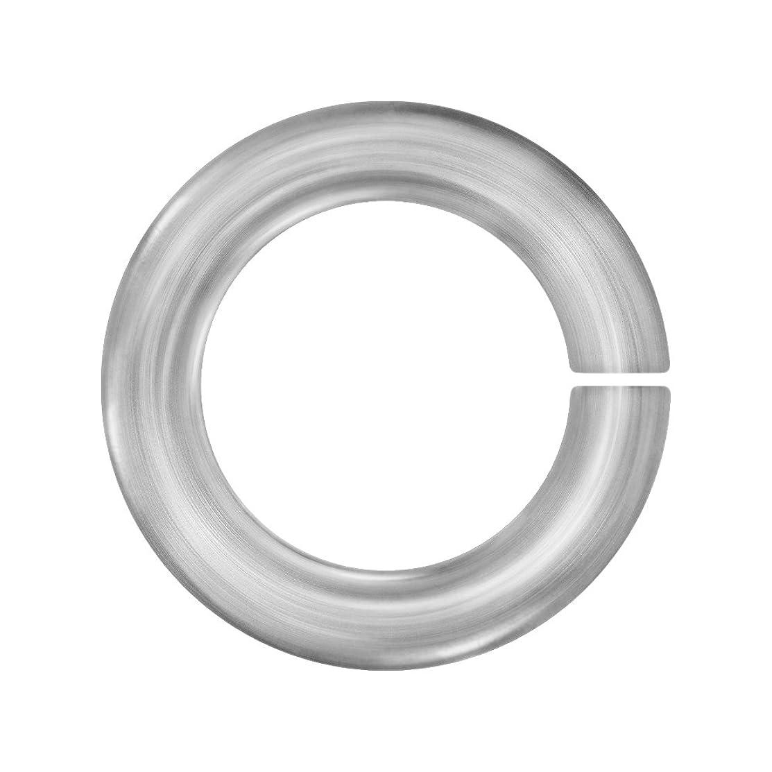 Weave Got Maille AA18A3Pltnm Gauge 3 mm Platinum Anodized Aluminum Jumprings