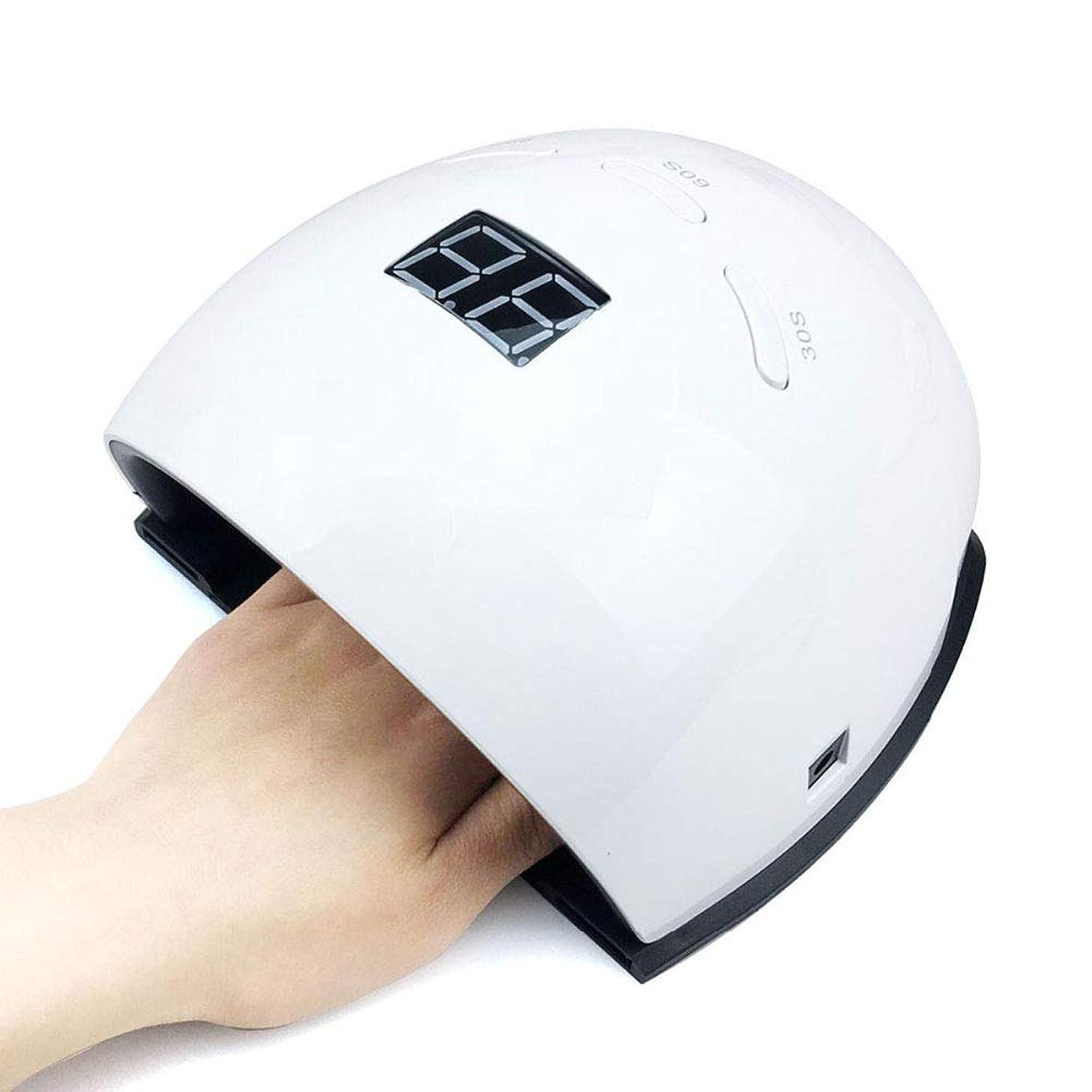 ひねり原告世代48W UV LED ネイル硬化光インテリジェント自動センサー3タイマープリセットプロ高速