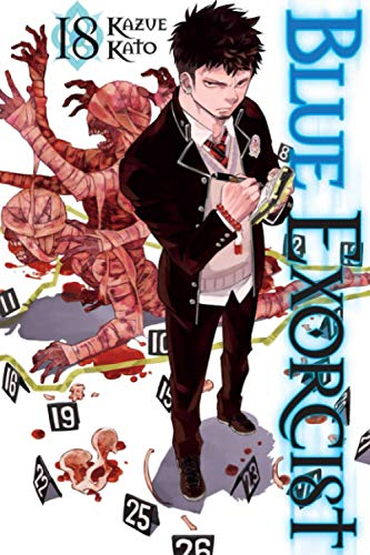 """Composition Notebook: Blue Exorcist Vol.18 Anime Journal/Notebook, College Ruled 6"""" x 9"""" inches, 120 Pages"""