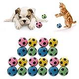 Celan - Pelotas de goma EVA para gatos, 20 unidades, de espuma suave