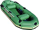 Best Inflatable Boats - Bestway HydroForce Voyager 1000 Inflatable Jon Boat | Review