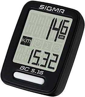Sigma 05160 Ciclocomputador, Unisex Adulto, Negro, Talla Única