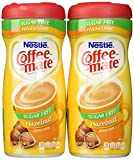 Coffee Mate Hazel Nut Sugar Free Powder ( pack of 2)