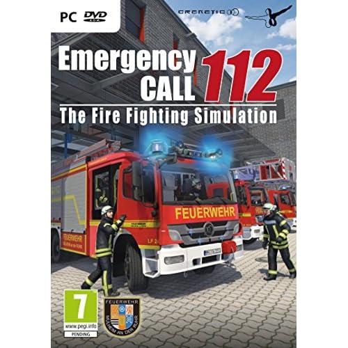 Emergency Call 112 - The Fire Fighting Simulation (PC DVD) - [Edizione: Regno Unito]