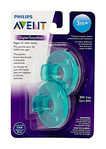 AVENT - Soothie - Schnuller aus Amerika - ab 3 Monate (3m+) - 2er Pack - Grün