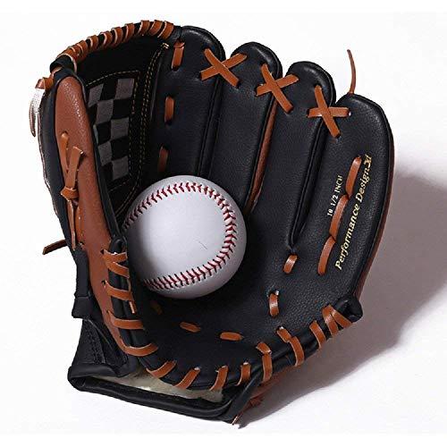 Baseball Handschuhe Softball-Handschuhe Thicken Infield Pitcher Linke Hand 9,5
