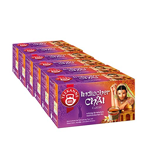 Teekanne Indischer Chai Classic 6er Pack