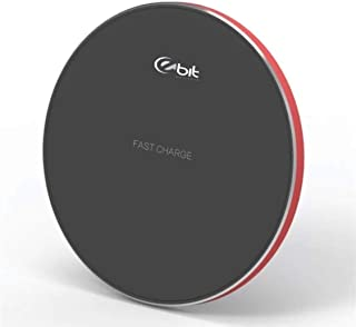 EBIT Fast Wireless Charger, Slim Q1 Wireless Charging pad Compatible for iPhone and Samsung Galaxy