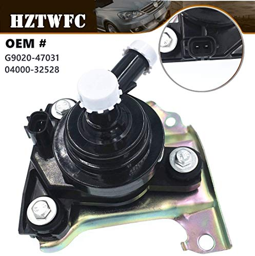 HZTWFC Engine Coolant Inverter Electric Water Pump Assembly with Bracket Compatible for 2004-2009 Toyota Prius Hybrid 1.5L OEM# G902047031 G9020-47031 04000-32528