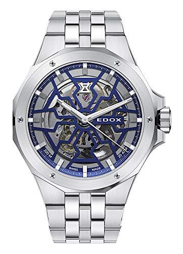 EDOX 85303 3M BUIGB - Reloj de pulsera analógico para hombre