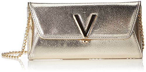 Mario Valentino Valentino by Damen Flash Business Tasche, Gold (Oro), 3.0x10.0x21.0 cm