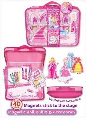 Pecoware Pink Eyelash Princess Factory outlet Magnetic Art online shop Travel Set Girls Lap