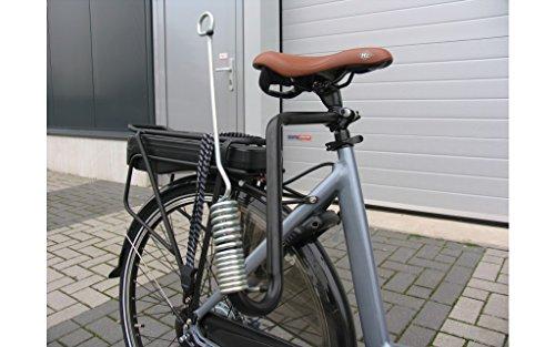Edge Hunde Fahrrad Leinenhalterung Abstandshalter Feder Fahrradleine