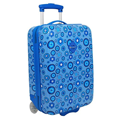 Daisy Snowball Suitcase for Children Blue
