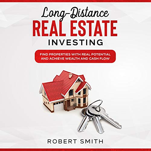 Long-Distance Real Estate Investing audiobook cover art