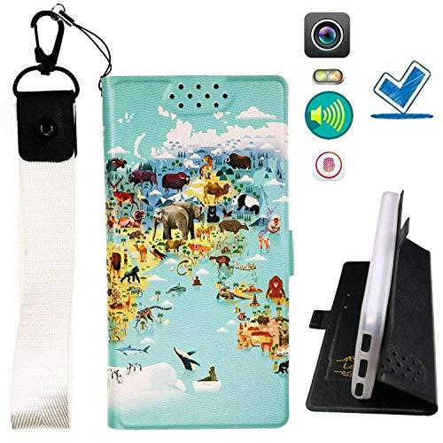 Custodia per Microsoft Nokia Lumia 540 Dual Sim Custodia Flip in Pelle PU + Cover Case in Silicone Fissa Protezione DT ITHYJ