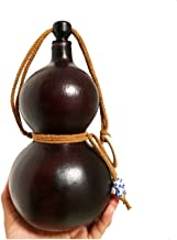 Tongboshi Pure Natural Gourd, Outdoor Portable Water Bottle, Water And Wine, Medicine Gourd, Cork Kettle, Beeswax Anti-seepage, About 600ml best choice