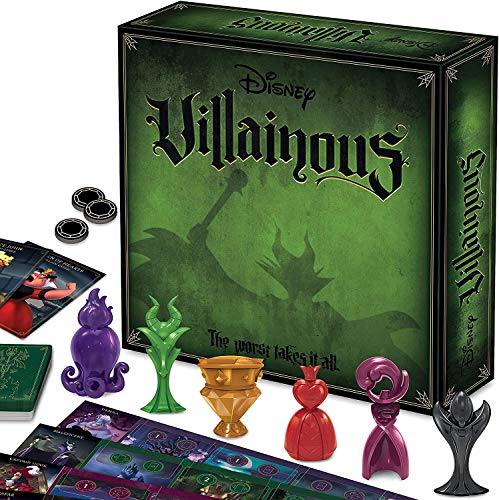 Ravensburger Disney Villainous Worst Takes It All - Expandable Strategy Family Board Games for...
