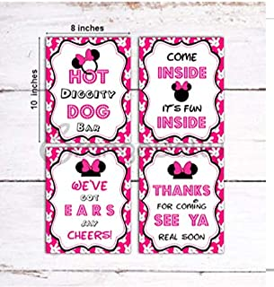 Best minnie mouse food signs Reviews
