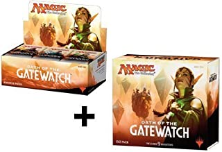 Magic: The Gathering Booster Box + Fat Pack Combo! Oath of The Gatewatch - OGW MTG