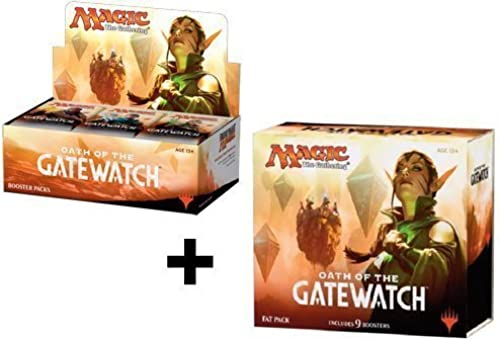 Booster Box + Fat Pack COMBO  Oath Of The Gatewatch - OGW MTG Magic the Gathering by Magic  the Gathering