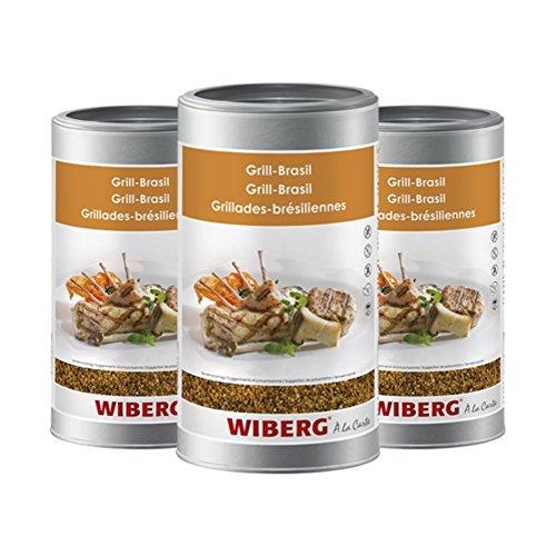 Wiberg Grill-Brasil Gewürzsalz, 750g 3er Pack