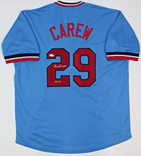 rod carew authentic jersey