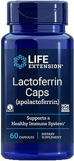 Life Extension Lactoferrin (apolactoferrin) 300 Mg, 60 Capsules
