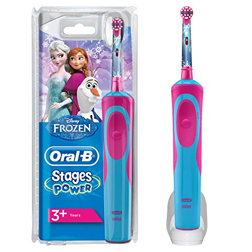 spazzolino elettrico 5 anni Oral-B Stages Power Spazzolino Elettrico Ricaricabile per Bambini con Personaggi Disney di Frozen