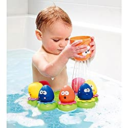 ✔️ Each Octocpal squirts water and features a different number that corresponds to the base ✔️ Number matching game promotes development of early skills. ✔️Mummy octopus separates and becomes a fun pouring cup ✔️ Baby octopuses can also stick to the ...