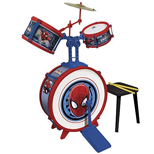 Reig/spiderman - 555 - Batterie - 3 Eléments avec Siege - Spiderman