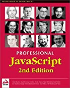 Professional JavaScript 2nd Edition