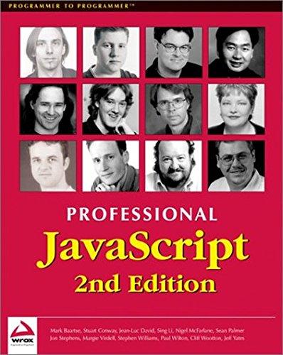 Professional JavaScript 2nd Edition