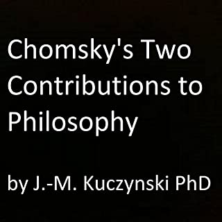 Chomsky's Two Contributions to Philosophy cover art